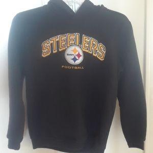 NFL Steelers hoodie youth sz L